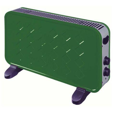 Radiateur électrique Convecteur Niklas 2000W Biscotto VERT Chauffage d'appoint Panneau rayonnant Electrique