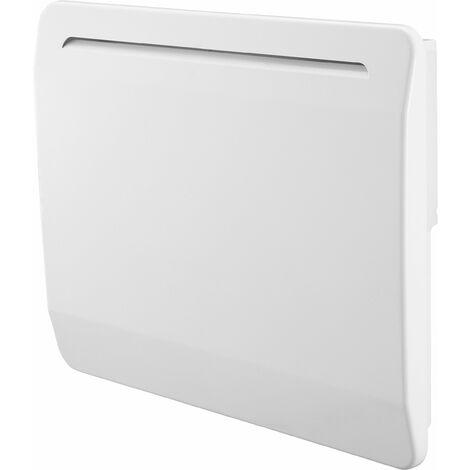Radiateur électrique cœur de chauffe céramique - détection de fenêtre ouverte - multiprogrammes - VOLTMAN - 1000W IP24 NF CE - Blanc