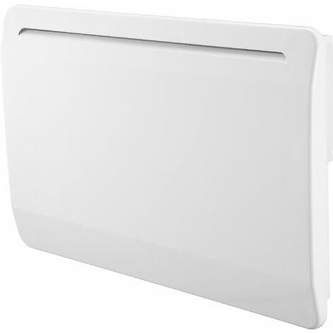 Radiateur électrique cœur de chauffe céramique - détection de fenêtre ouverte - multiprogrammes - VOLTMAN - 1500W IP24 NF CE - Blanc