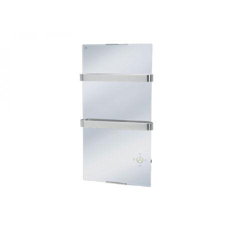 Radiateur électrique de salle de bains avec Wifi control façade effet miroir