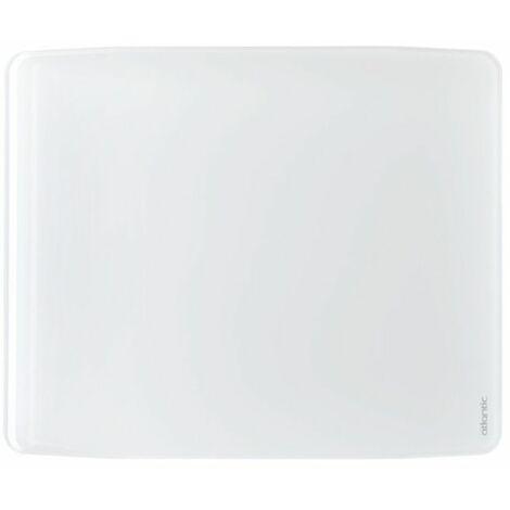 Radiateur électrique Divali Premium connecté - Horizontal - 1000W - Blanc brillant