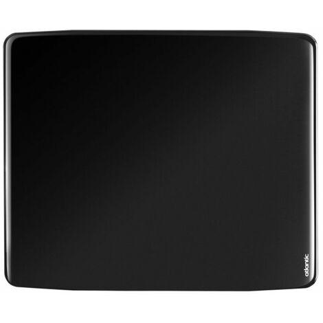 Radiateur électrique Divali Premium connecté - Horizontal - 1000W - Noir brillant