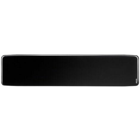 Radiateur électrique Divali Premium connecté - Plinthe - 1500W - Noir brillant