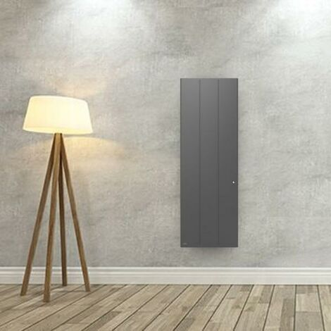 Radiateur electrique Fonte AIRELEC - OZEO Smart ECOcontrol 2000W Vertical Anthracite - A693527