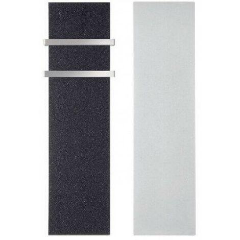 Radiateur electrique MILO Rock Noir 1500W Vertical - LVI 2018061