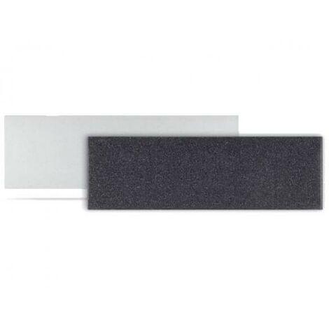 Radiateur electrique MILO Rock Plinthe (haut.250) Noir 610W - LVI 2025151
