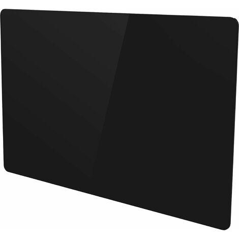 Radiateur électrique panneau rayonnant noir finition verre - multimode - VOLTMAN - 1500W IP24 NF CE - Noir