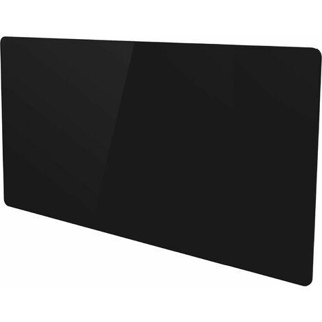 Radiateur électrique panneau rayonnant noir finition verre - multimode - VOLTMAN - 2000W IP24 NF CE - Noir