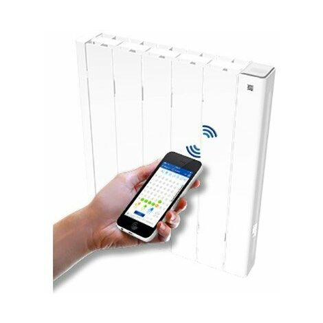 Radiateur électrique programmable par BLUETOOTH ® - 2000W - Haverland - Blanc - Blanc
