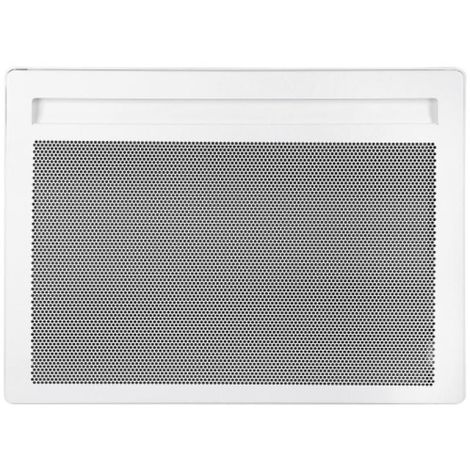 Radiateur électrique rayonnant Horizontal Alliage Aluminium SOLIUS Blanc 2000w