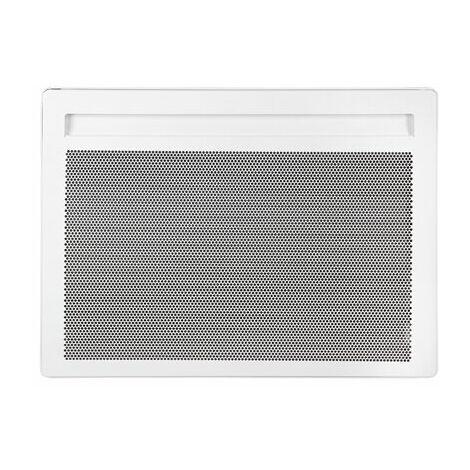 Radiateur électrique rayonnant Horizontal Alliage Aluminium SOLIUS Blanc