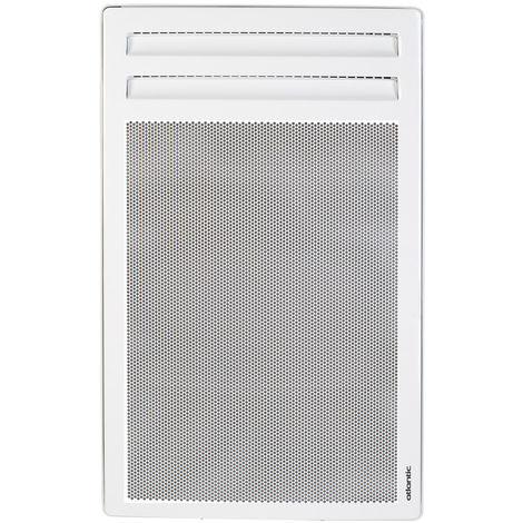 Radiateur électrique rayonnant Vertical Alliage Aluminium SOLIUS Blanc