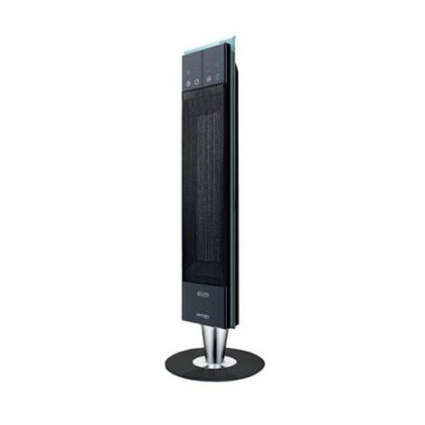 Radiateur electrique soufflant 1300W-2500W noir tour design 788X263X263mm thermostat prog HIFAN TOWER ARGO 191070123