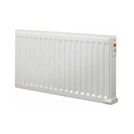 Radiateur électrique Yali Digital Plinthe - 1000W - Fluide caloporteur - Blanc