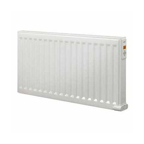 Radiateur électrique Yali Digital Plinthe - 750W - Fluide caloporteur - Blanc