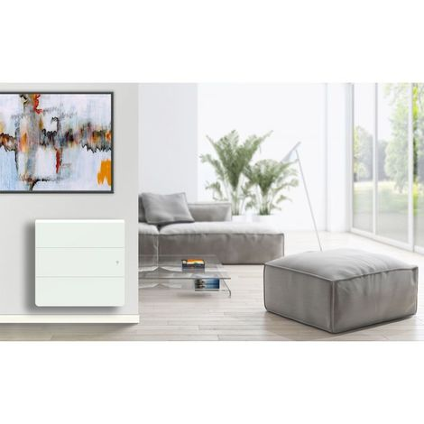 Radiateur en fonte horizontal Lena Smart ECOcontrol