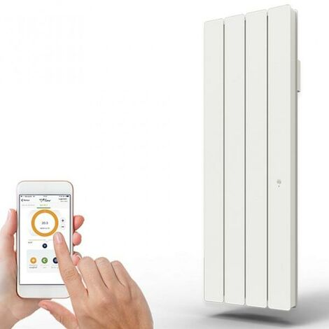 Radiateur Fonte PEGASE Smart ECOControl 1000W Vertical - APPLIMO 0011943SE