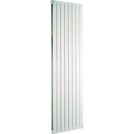 Radiateur FASSANE eau chaude vertical double 1800 w hauteur 2000 mm largeur 592 mm 8 éléments blanc