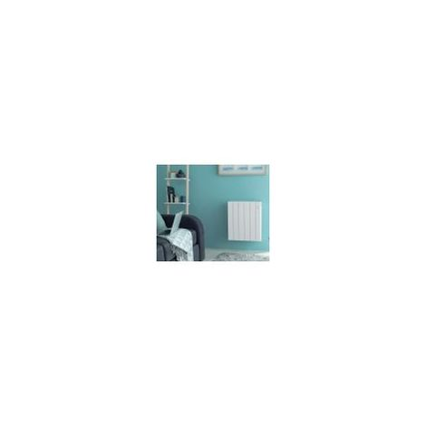 Radiateur fluide caloporteur digital détection NKF 15 horizontal 0750W blanc ATLANTIC 611607