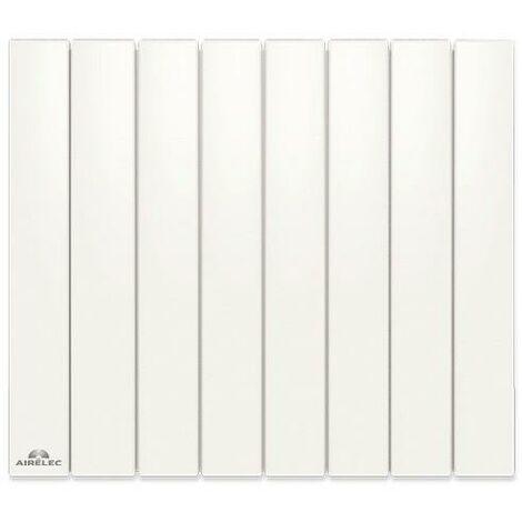 Radiateur Fonte AIRELEC - FONTEA Smart ECOControl 2500W Horizontal Blanc - A693058