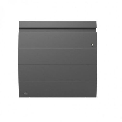 Radiateur Fonte AIRELEC - INOVA 2 Smart ECOControl 1250W Horizontal Gris Anthracite - A693804