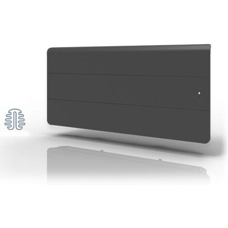 Radiateur Fonte LENA Smart EcoControl 1500W Bas Gris - APPLIMO 0012185SEHS
