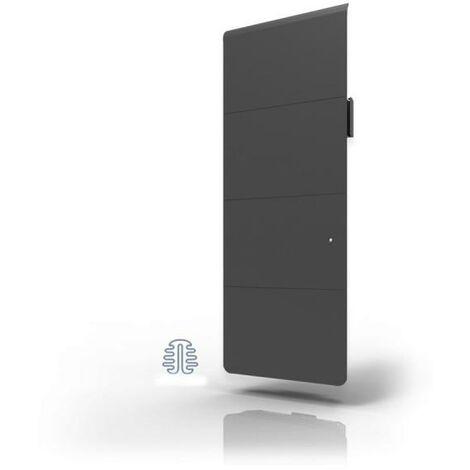 Radiateur Fonte LENA Smart EcoControl 1500W Vertical Gris - APPLIMO 12175SEHS