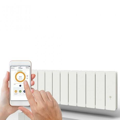Radiateur Fonte PEGASE Smart ECOControl 1500W Plinthe - APPLIMO 0011965SE (haut. 300)