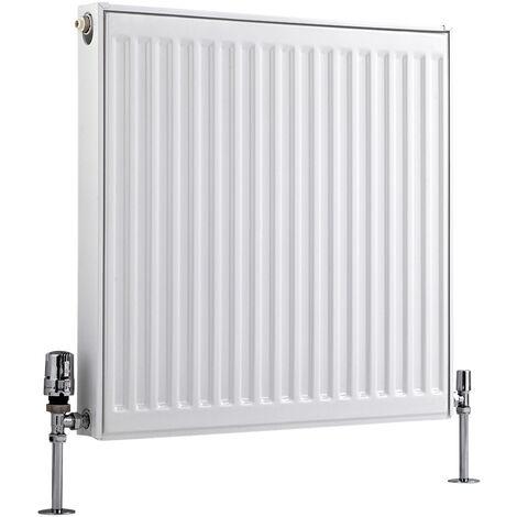 Radiateur Horizontal À Panneaux – Blanc – Type 11 – 30 x 40cm – Eco