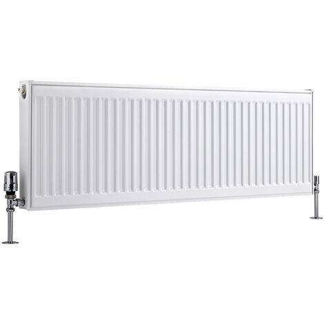 Radiateur Horizontal À Panneaux – Blanc – Type 11 – 40 x 120cm – Eco
