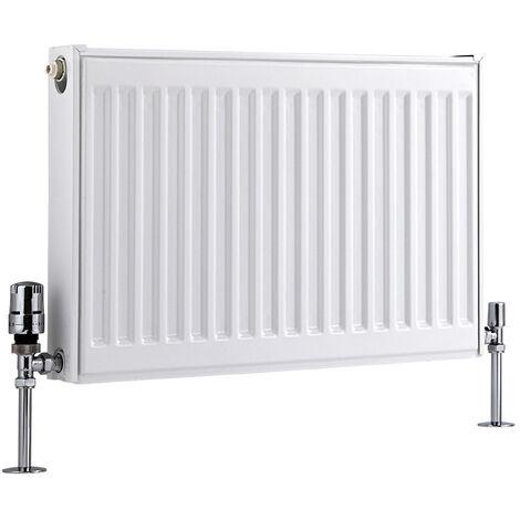 Radiateur Horizontal À Panneaux – Blanc – Type 11 – 40 x 60cm – Eco