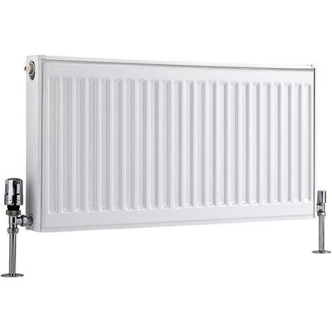 Radiateur Horizontal À Panneaux – Blanc – Type 11 – 40 x 80cm – Eco
