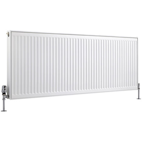Radiateur Horizontal À Panneaux – Blanc – Type 11 – 60 x 160cm – Eco
