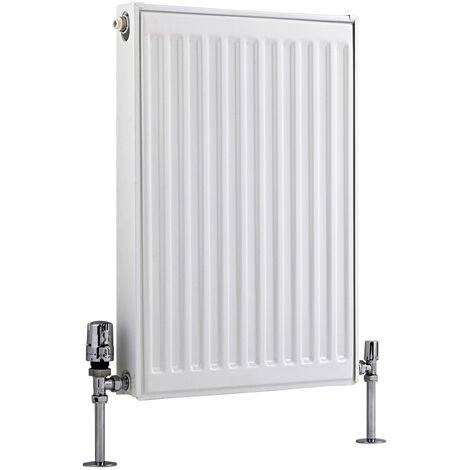 Radiateur Horizontal À Panneaux – Blanc – Type 11 – 60 x 40cm – Eco