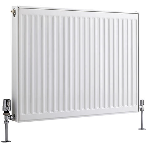 Radiateur Horizontal À Panneaux – Blanc – Type 11 – 60 x 80cm – Eco