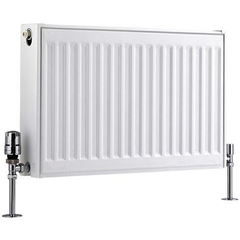 Radiateur Horizontal À Panneaux – Blanc – Type 21 – 40 x 60cm – Eco