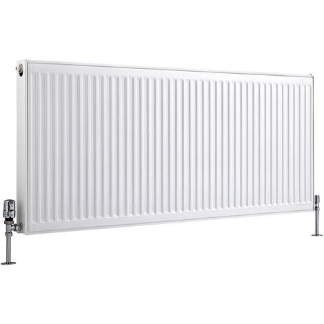 Radiateur Horizontal À Panneaux – Blanc – Type 21 – 60 x 140cm – Eco