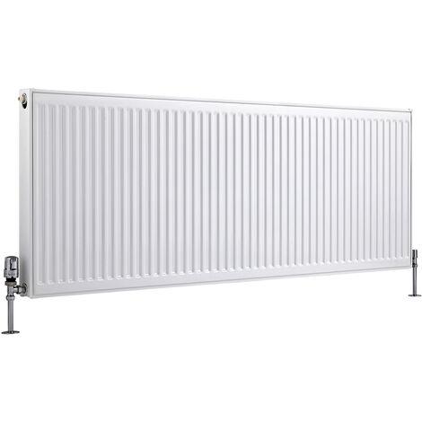 Radiateur Horizontal À Panneaux – Blanc – Type 21 – 60 x 160cm – Eco