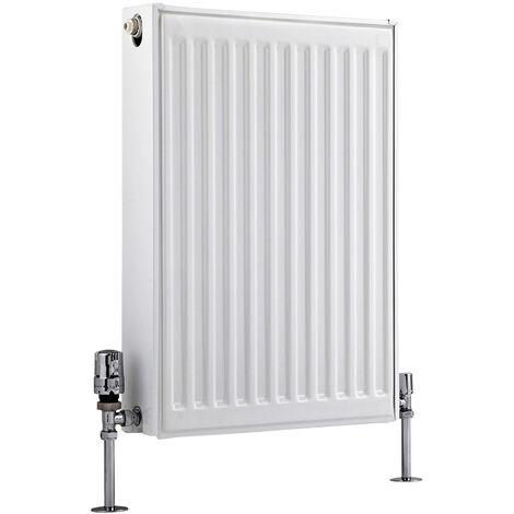 Radiateur Horizontal À Panneaux – Blanc – Type 21 – 60 x 40cm – Eco