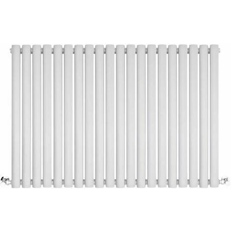 Radiateur Horizontal Vitality Blanc 60cm x 180cm x 5.6cm 1115 watts