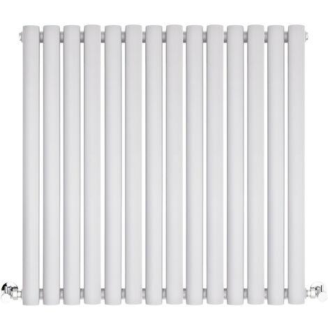 Radiateur Horizontal Vitality Blanc 60cm x 83.4cm x 7.8cm 1096 watts