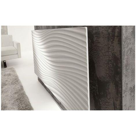 Radiateur Irisium d'Atlantic design et connecté 1000W blanc 603110 - Blanc - 1100 x 600 x 90