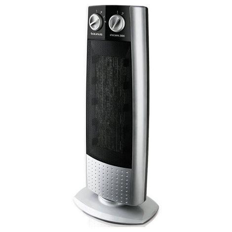 Radiateur multifonction soufflant céramique Atacama 2000 - 2000W - Silver / Noir