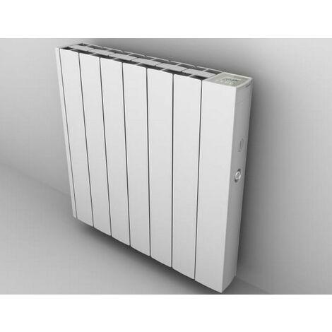 radiateur mural à inertie fluide 1200w blanc - 0.637.394 - ducasa