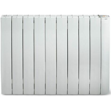 radiateur mural à inertie fluide 1500w blanc - galbeo r-control 1500 blanc - supra