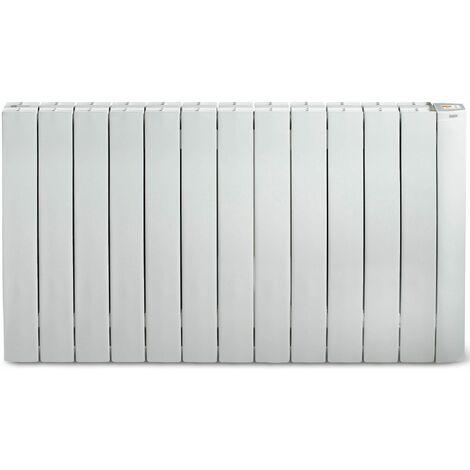radiateur mural à inertie fluide 2000w blanc - galbeo r-control 2000 blanc - supra