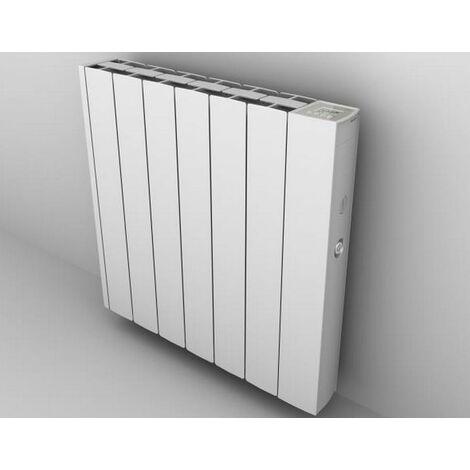 radiateur mural à inertie fluide 600w blanc - 0.637.391 - ducasa