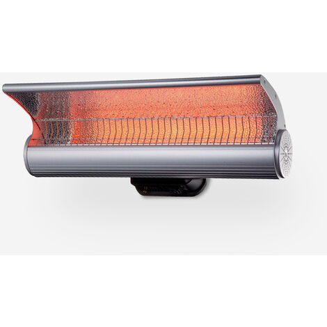 Radiateur mural infrarouge avec lampe chauffante intérieur extérieur Lys
