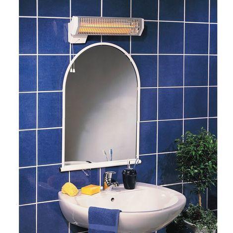 Calefacción halógena para el baño