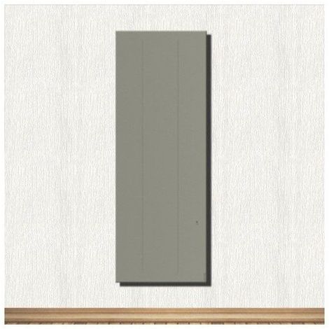 Radiateur Oniris Atlantic 1000 W Pilotage intelligent vertical Gris - Gris - 470 x 1120 x 149 - Gris